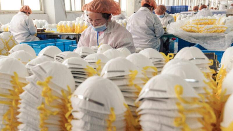 「口罩外交」讓習丟臉?美再查獲50萬中國假口罩