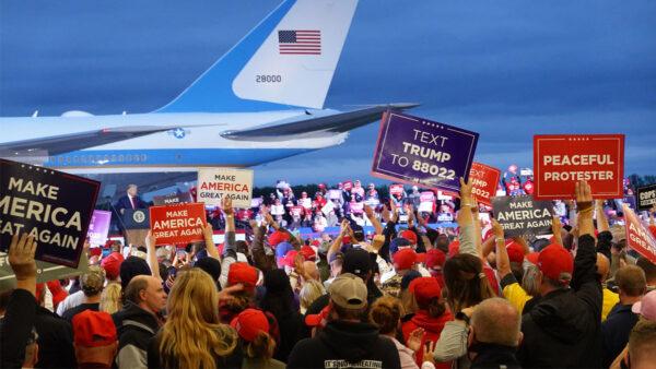 川普接触1亿选民铸竞选里程碑 拜登零成果
