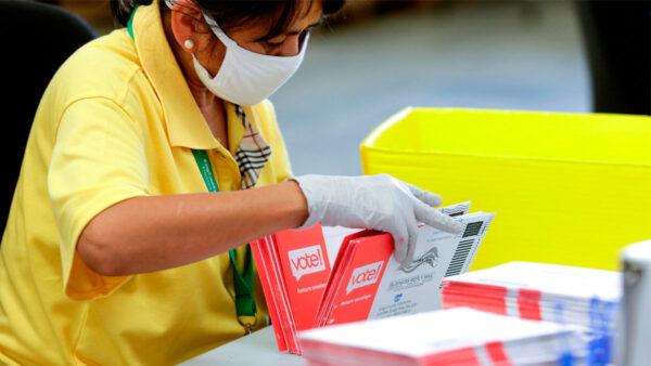 郵寄選票再爆醜聞 加州郵遞員污損郵件被抓包