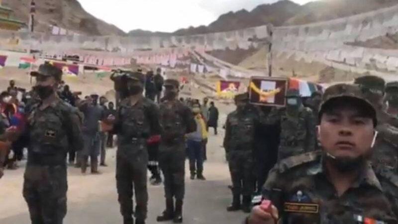 中印边境神秘藏人部队曝光 5千米高山如走平地
