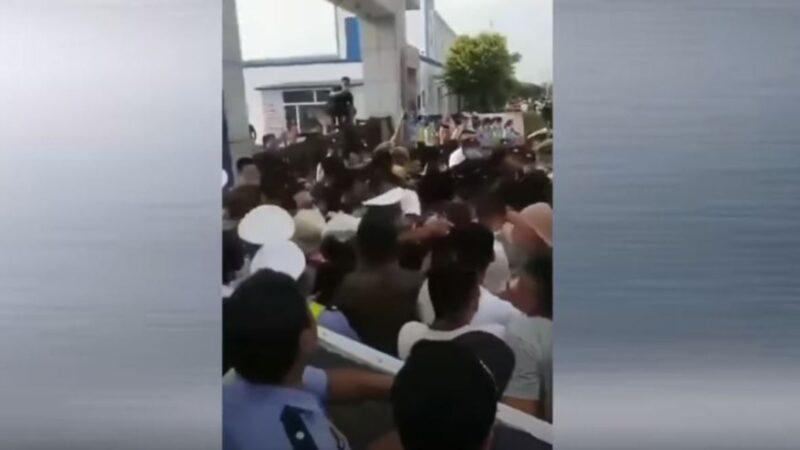 赵克志密令强硬镇压内蒙抗议 传多人坠楼亡