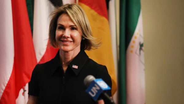 美大使与台处长高调共进午餐 撑台重返联合国