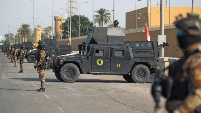 驻伊拉克大使馆频遭攻击 传美将撤军关使馆