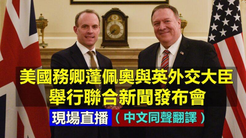 【重播】美国务卿与英外交大臣联合新闻发布会(同声翻译)