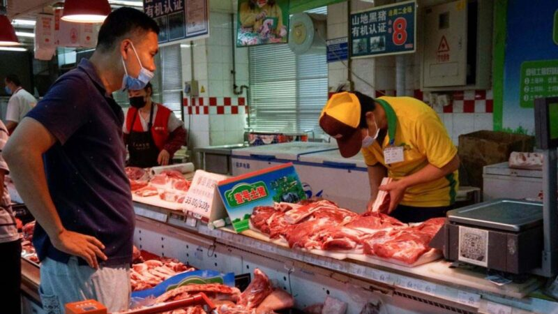 拒进口德国猪肉 中国猪肉价格继续上涨
