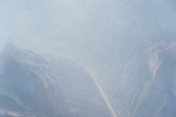 北加州爆發「小溪大火」 直升機救出200多人