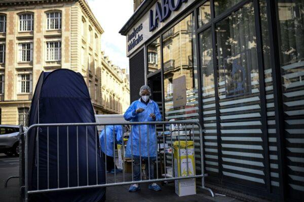 新增染疫近9000例 法國疫情創爆發迄今單日新高