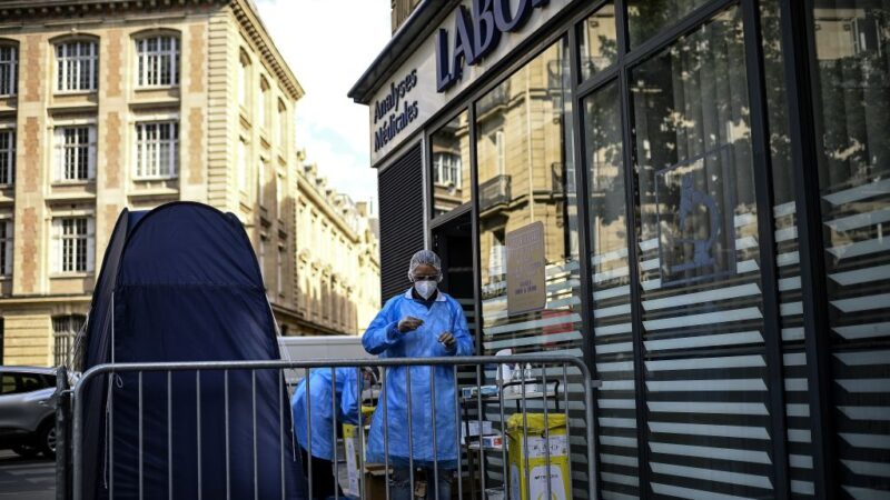 新增染疫近9000例 法国疫情创爆发迄今单日新高