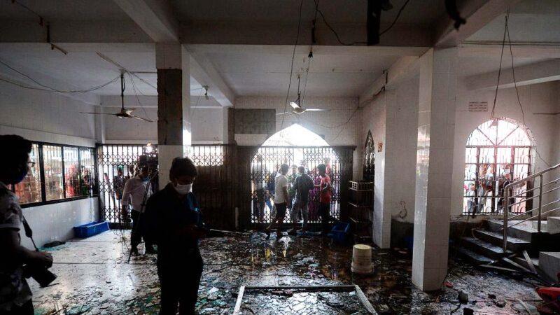 開冷氣引發瓦斯氣爆 孟加拉清真寺釀12死數十傷