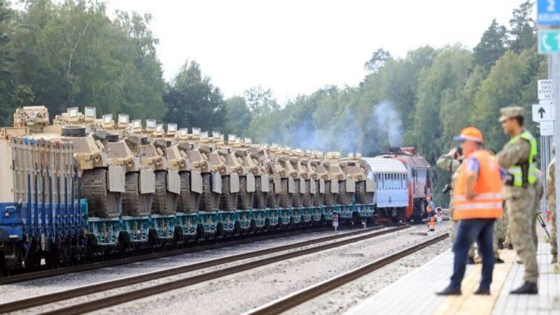 白俄大選爭議持續 數百美軍與戰車抵立陶宛演習