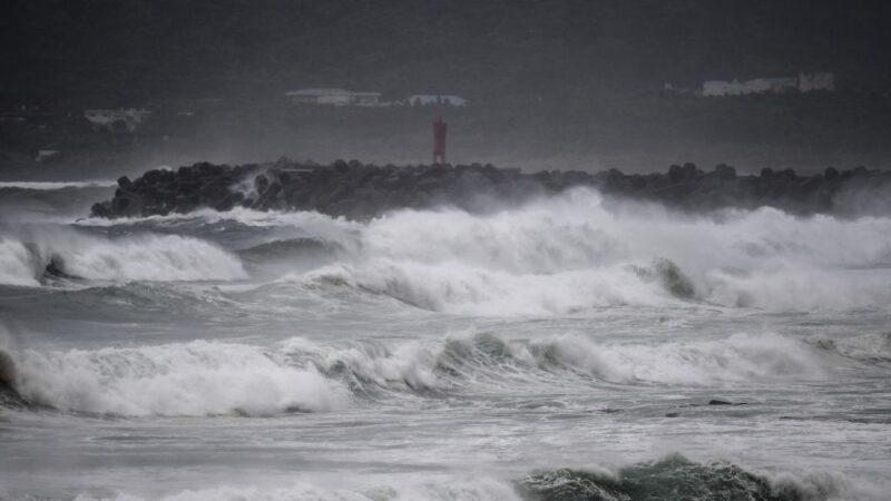 強颱海神逼近 日氣象廳:威力之強 民眾未曾經歷(視頻)