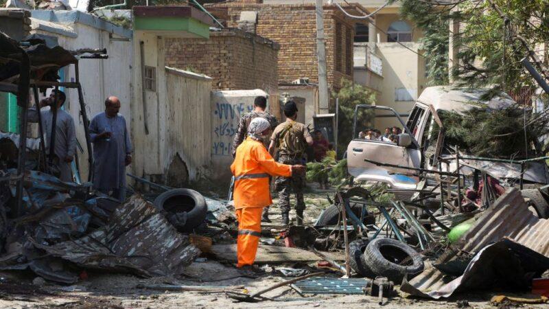 锁定阿富汗副总统车队炸弹攻击 造成10死15伤