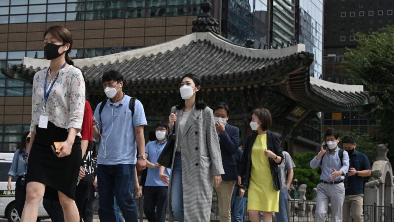 近九成韓國民眾憂疫情危及國安 居全球之冠