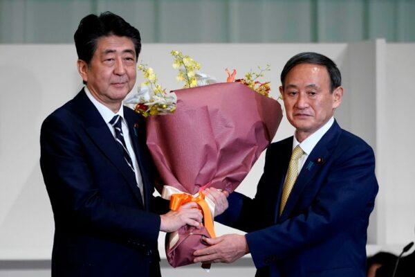 """一如意料 """"令和大叔""""菅义伟当选日本自民党总裁"""