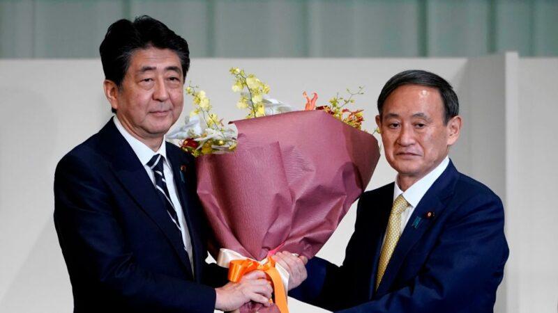 一如意料 「令和大叔」菅義偉當選日本自民黨總裁