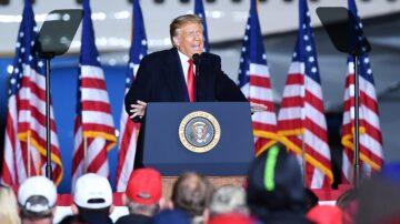 川普出席俄亥俄大選集會 譴責社會主義