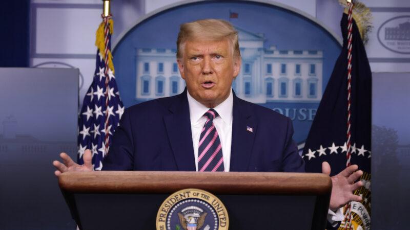 【重播】9.18川普在白宮舉行新聞發佈會(同聲翻譯)