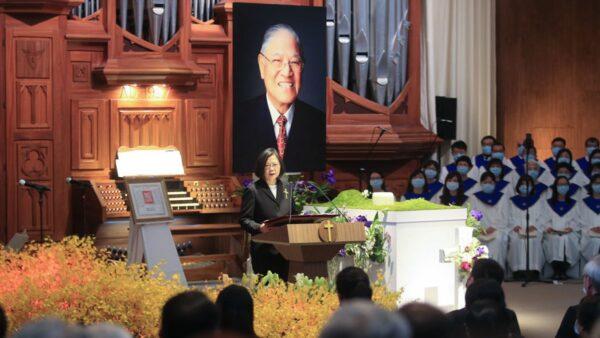 組圖:台灣前總統李登輝追思禮拜 多國政要出席