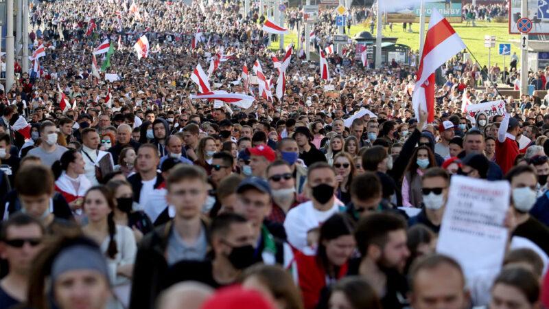 制裁白俄罗斯 欧盟打破僵局达协议 美祭惩罚性制裁