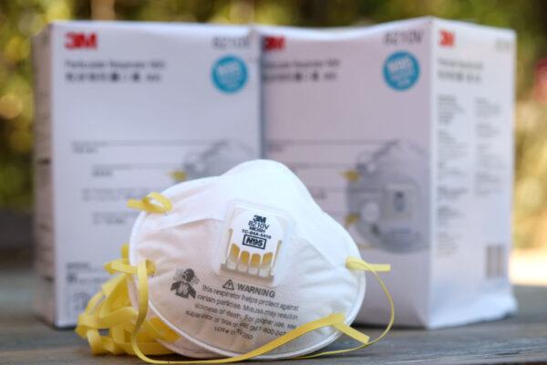 中國假N95口罩 美海關查獲50萬枚