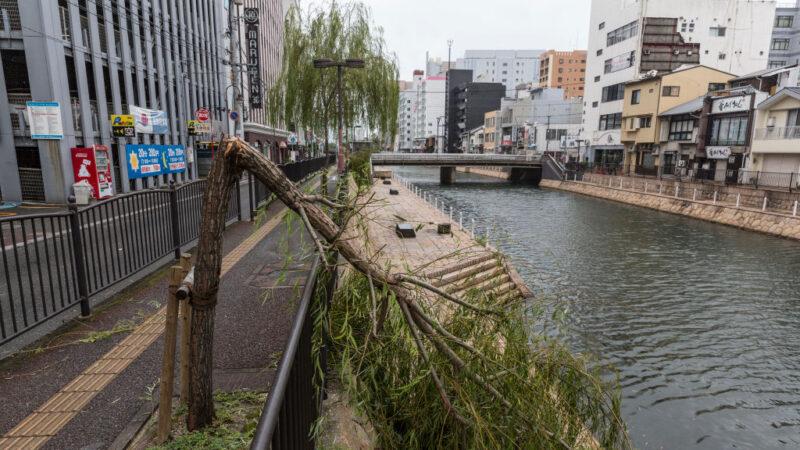 海神釀日本至少35傷4人失蹤 直撲韓國逾300航班取消