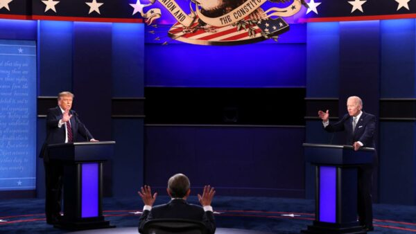 美大選辯論川普、拜登首次交鋒 6重點引關注(視頻)