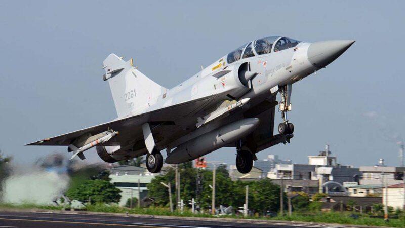 台军大规模演习:不容敌机在台湾领空耀武扬威