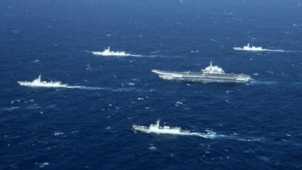 中共四海同步軍演 分析:虛張聲勢 習立威壯膽