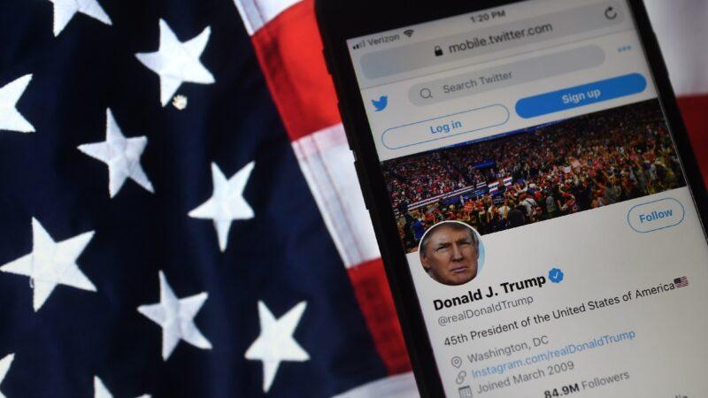 籲選民大選日查選票 川普推文遭推特隱藏