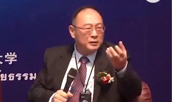 中共「國師」金燦榮狂言流出:民主是毒藥是邪教