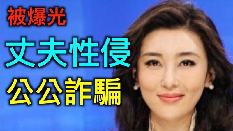 """【德传媒】央视""""求和""""女主播被爆丈夫性侵入狱、公公诈骗被囚"""