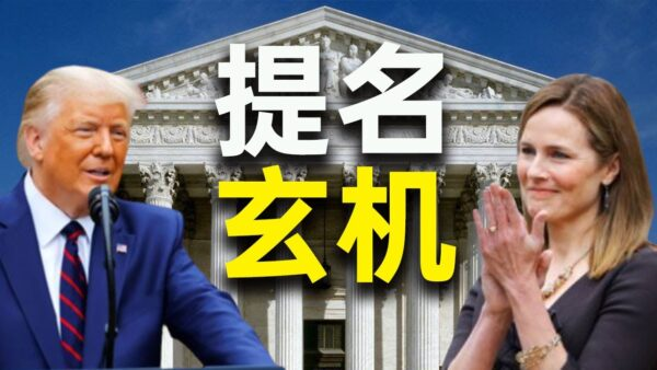 【秦鹏快评】川普提名Amy最高法院大法官 有何玄机?