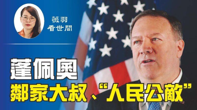 """【薇羽看世间】邻家大叔""""人民公敌"""" 告诉你一个真实的蓬佩奥"""