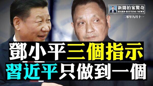 【拍案驚奇】鄧小平給紅二代三指示 習只做到一個