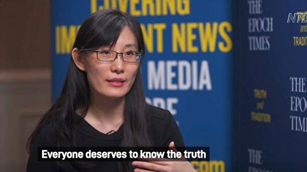 閆麗夢開推特賬號2天被封 FOX採訪視頻也遭禁