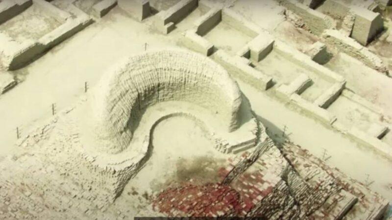 4000年前  什么力量使约5万人的古城瞬间消失?