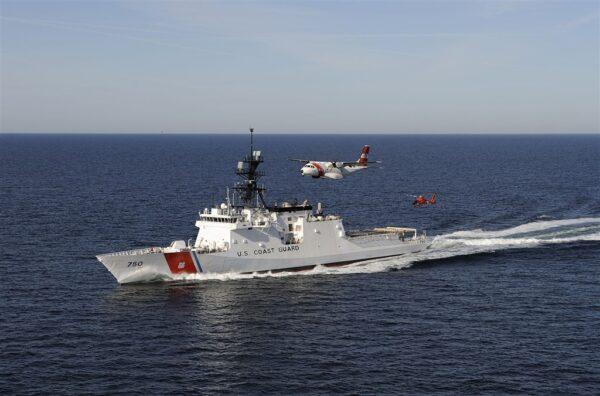 反制中共渔业骚扰 美国西太平洋部署巡防舰