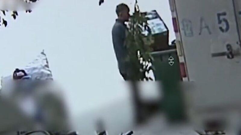 山东男偷2箱口罩倒垃圾桶 只留纸箱卖钱