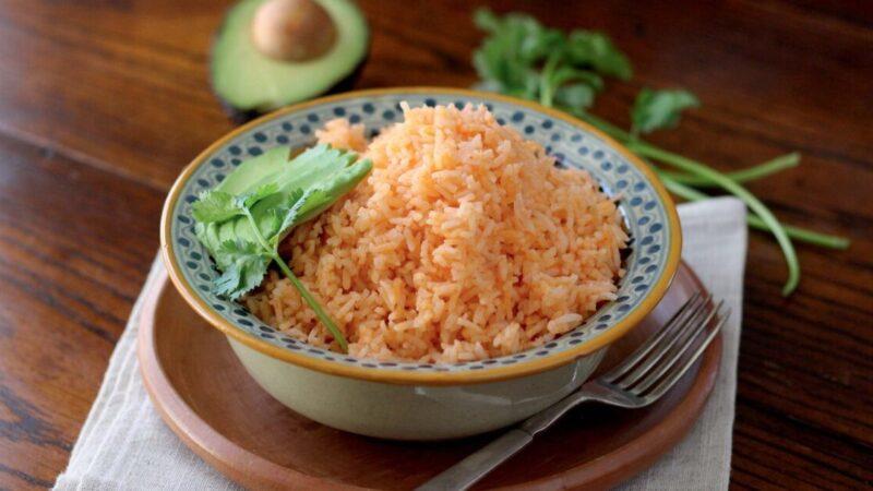 健康营养的墨西哥红米饭(组图)