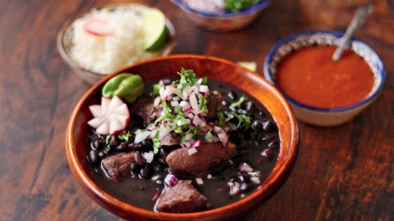 豬肉燉黑豆 重新加熱更美味(組圖)