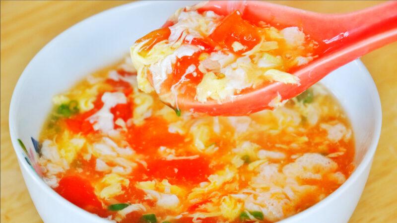 【美食天堂】番茄蛋花湯的做法~簡單美味讚不絕口!家常料理食譜 一學就會