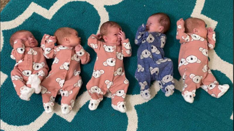想生女儿意外迎来5胞胎 她照完超音波哭了1小时