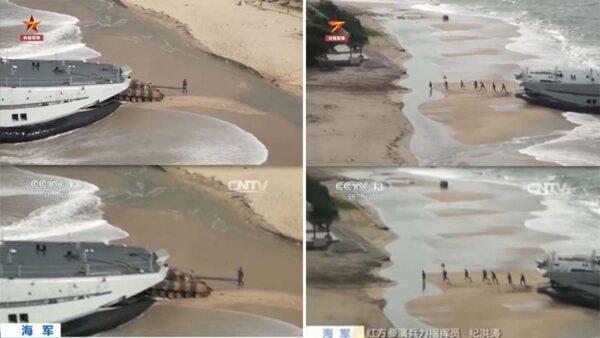 央视抛登陆演习影片恐吓台湾 被揭5年前就播过