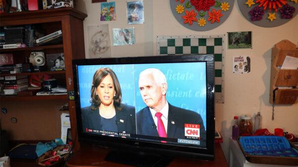 """谁是副总统辩论赢家? 意外""""访客""""成明星"""