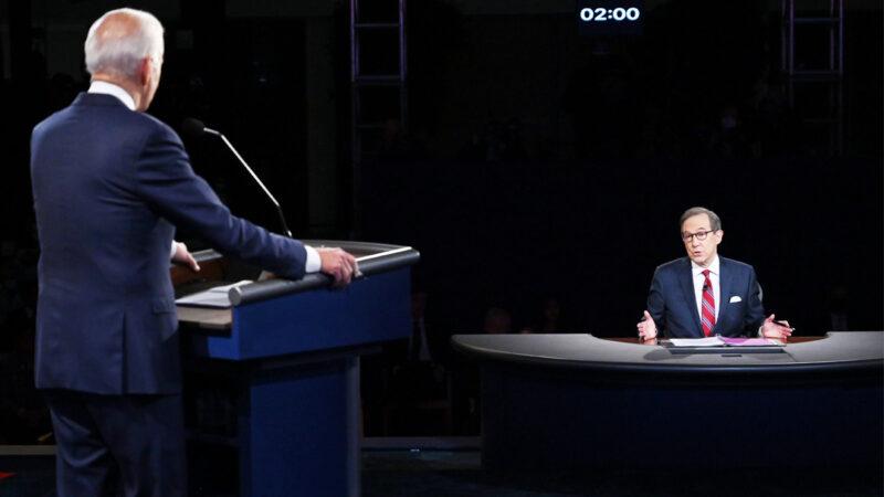 首场总统辩论川普1对2 同行狠批主持人华莱士