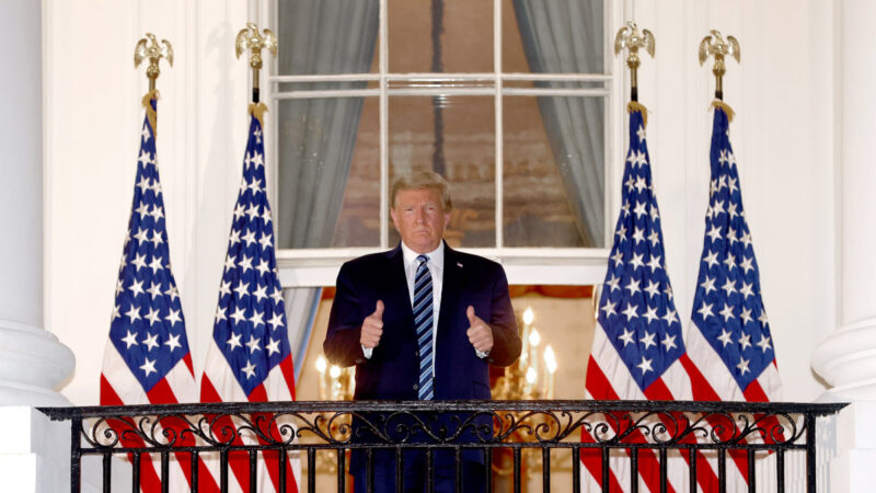川普:望周六重返竞选活动 连任将升级美中关税战
