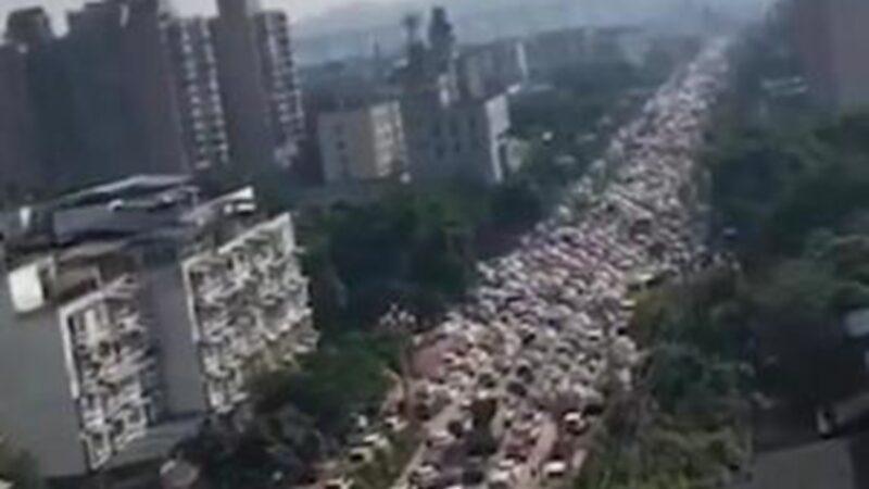 四川化工厂疑毒气泄漏 30万人恐慌大逃亡