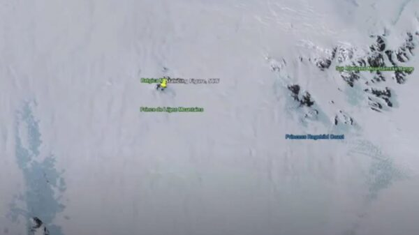 南极发现神秘建筑  外星人?地心人的?