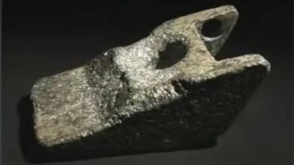 25万年前人造金属物现世  UFO残片?