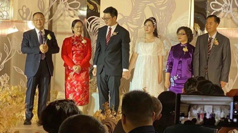 傳金燦榮為留美兒子辦婚禮 詮釋「反美只是工作」